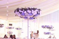 Wedding decoration flowers Stock Photo