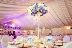 Wedding decoration flowers Royalty Free Stock Images