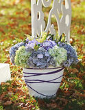 Wedding decoration in garden. Stock Photography