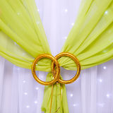 Wedding decoration, in the hall for celebrations Royalty Free Stock Photos