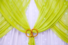 Wedding decoration, in the hall for celebrations. In the hall for celebrations Stock Photo