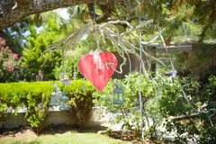 Wedding Decoration Heart Stock Images