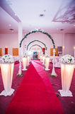 Wedding Decoration. For the reception hall Royalty Free Stock Photos