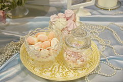 Wedding decoration (sweets). Photo with the image of the wedding decoration Stock Images