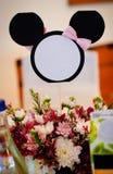 Wedding decoration on table Stock Photography