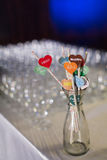 Wedding decorations Stock Image