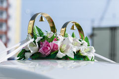 Wedding decorations Royalty Free Stock Photos