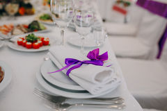 Free Wedding Decorations Cups Stock Photo - 52625780