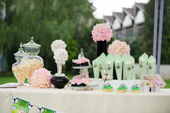 Wedding decorations royalty free stock images