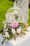 Wedding decorations. In luxury ceremony Stock Photo