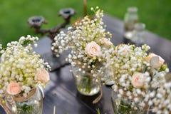 Wedding decorations. Nature, wedding ceremony Stock Image
