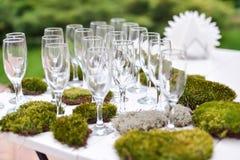 Wedding decorations. Nature, wedding ceremony Stock Images