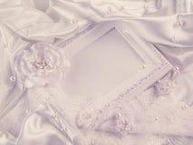 Wedding decorations, silk, lace, silk flowers
