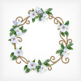 Wedding Decorative Frame Royalty Free Stock Photo