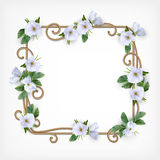 Wedding Decorative Frame Stock Images