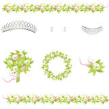 Wedding Design Elements Stock Photo