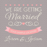 Wedding design elements. Set of stickers and ribbons, wedding design elements, vector illustration vector illustration