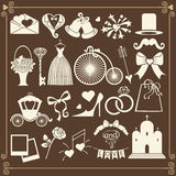 Wedding Design  icons for Web and Mobile.Vector Stock Photo