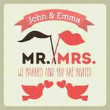 Wedding design Royalty Free Stock Photo