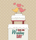 Wedding design Royalty Free Stock Images
