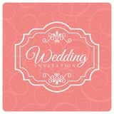 Wedding design Stock Photography