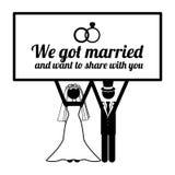 Wedding design Royalty Free Stock Images