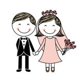 Wedding design Royalty Free Stock Image