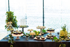 Wedding dessert Stock Images
