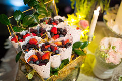 Wedding dessert Royalty Free Stock Photography