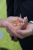 Wedding detail Stock Image