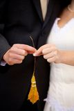 Wedding details Royalty Free Stock Image