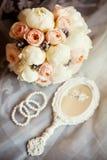 Wedding details Royalty Free Stock Photos
