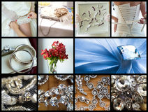 Wedding details Royalty Free Stock Photos