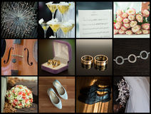 Wedding details Royalty Free Stock Images