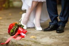 Wedding details Stock Image
