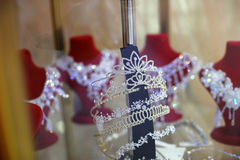 Wedding diadems Stock Photo