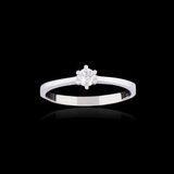 Wedding diamond ring Royalty Free Stock Image