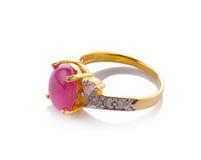 Wedding diamond ring Royalty Free Stock Photo