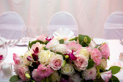 Wedding dinner Stock Photo