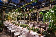 Wedding dinner Royalty Free Stock Photo