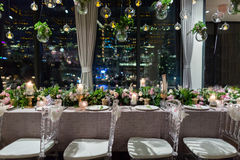 Wedding dinner Royalty Free Stock Images