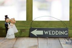Wedding Dolls Stock Photos