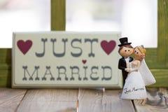 Wedding Dolls Stock Images