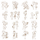 Wedding Doodles - Design Elements Stock Photo