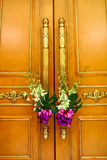 Wedding door Stock Image