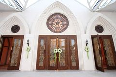Wedding door Stock Photography