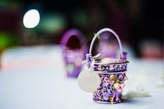 Wedding Door Gift Stock Images
