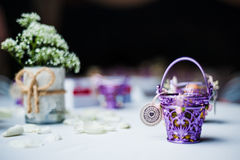 Wedding Door Gift Royalty Free Stock Photography