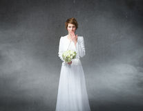 Wedding doubts Royalty Free Stock Images