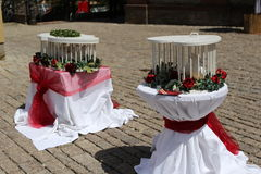 Wedding doves Stock Photo